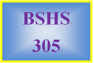 BSHS 305 Week 5 Client Needs and Services Presentation