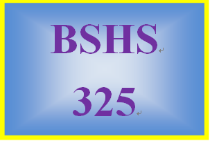 BSHS 325 Week 4 Later Adulthood Development Report