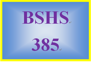 BSHS 385 Week 1 Techniques in Motivational Interveiwing