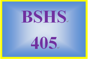 BSHS 405 Week 3 Treatment Plan