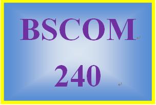 BSCOM 240 Week 1 Identifying and Eliminating Bias