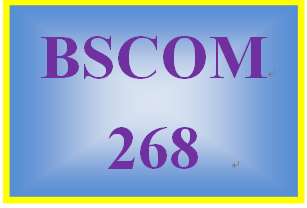 BSCOM 268 Week 2 Annotated Reference List