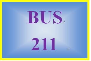 BUS 211 Week 2 Quiz