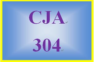 CJA 304 Week 3 Quiz