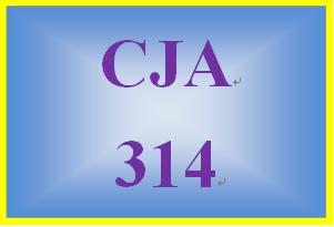CJA 314 Week 3 Individual Paper – Examining Theory Paper