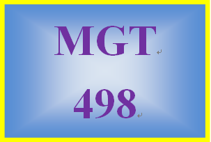 MGT 498 Week 4 Competitive Advantages Paper