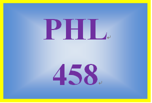 PHL 458 Week 4 Troubleshooting Creativity