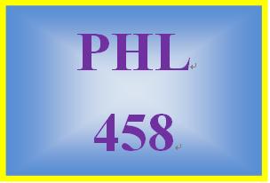 PHL 458 Week 5 Troubleshooting Communication