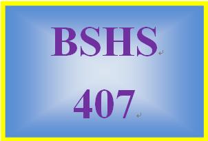 BSHS 407 Week 5 Sexual Violence Presentation