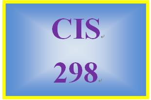 CIS 298 Week 2 Individual: Organizational Structures