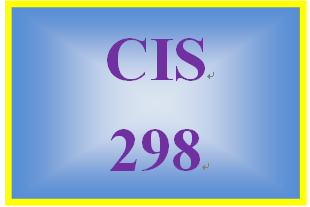 CIS 298 Week 3 Individual: IT Operations