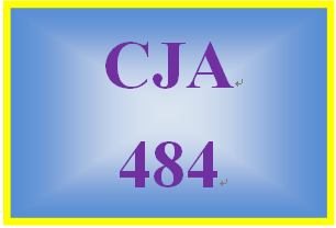 CJA484 Week 5 Corrections Research Paper and Evaluation