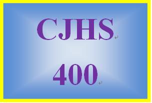 CJHS 400 Week 2 Behavioral Theory: Behavior Plan