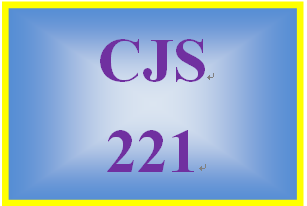 CJS 221 Week 1 Disparity and Discrimination Paper