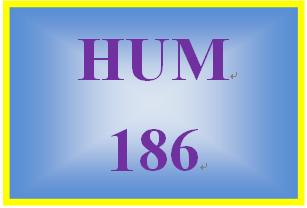 HUM 186 Week 1 Effects of Mass Media Paper
