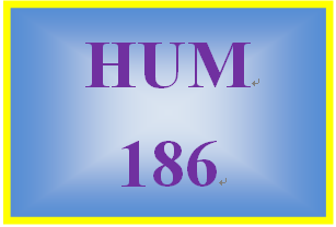HUM 186 Week 3 Influence of Entertainment Media Paper