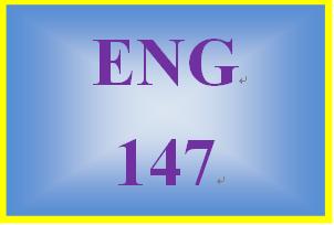 ENG 147 Week 7 Final Essay
