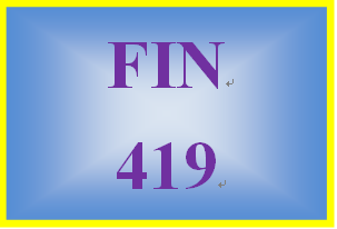 FIN 419 Week 3 Working Capital Strategies Paper and Presentation