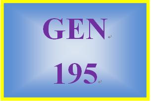GEN 195 Week 1 Responsible Borrowing