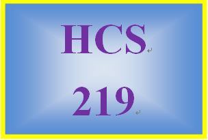 HCS 219 Week 1 First E-mail to Lauren