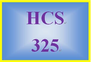 HCS 325 Week 1 Roles and Functions Worksheet