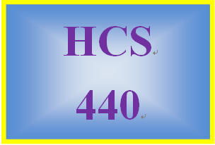 HCS 440 Week 3 Health Care Reform Project Part II