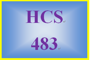 HCS 483 Week 2 Electronic Health Records Presentation