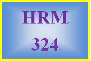 HRM 324 Week 2 Job Analysis