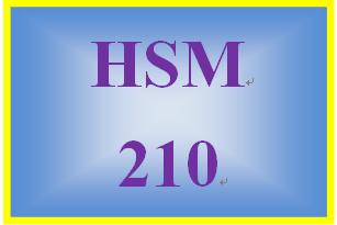 HSM 210 Week 2 Researching Human Service Agencies