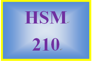 HSM 210 Week 8 Characteristics and Skills