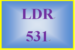 LDR 531 Week 4 Conflict Resolution