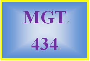 MGT 434 Week 2 Employer-Employee Contract Paper
