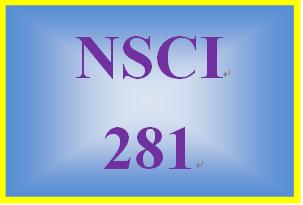 NSCI 281 Week 3 Week Three Quiz