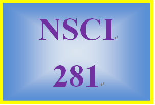NSCI 281 Entire Course