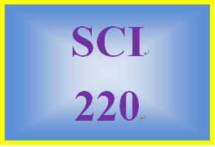 SCI 220 Week 1 Food Label and Health