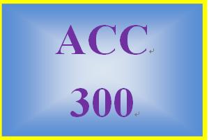 ACC 300 Week 4 Weekly Reflection