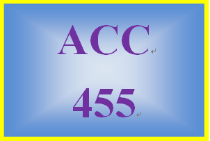 ACC 455 Week 1 Tax Position Paper