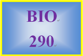 BIO 290 Week 7 WileyPLUS Final Examination