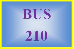 BUS 210 Entire Course