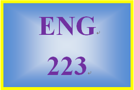 ENG 223 Week 1 Written Communication in the Workplace
