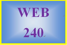 WEB 240 Week 5 Individual: Usability and Accessibility Test