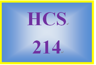 HCS 214 Week 5 Week Five Knowledge Check