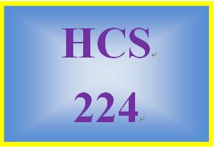 HCS 224 Week 1 Health Care Team Members