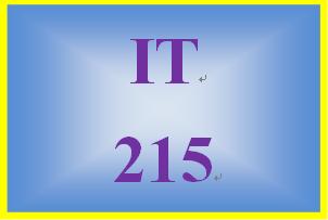 IT 215 Entire Course