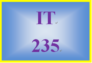 IT 235 Week 2 Acquiring and Saving Images