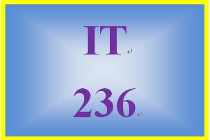 IT 236 Week 2 Website Plan Part One