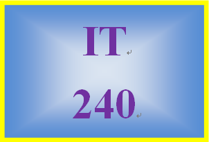 IT 240 Week 4 Individual: Ethernet Specifications