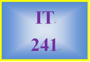 IT 241 Week 8 Wireless Security