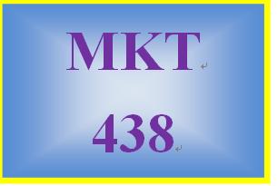 MKT 438 Week 2 Part I: Public Relations Campaign