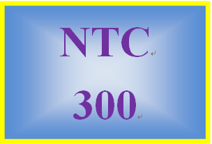 NTC 300 Week 2 Learning Team: Cloud Implementation Proposal Project Plan